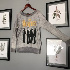 The Beatles cozy thin sweater